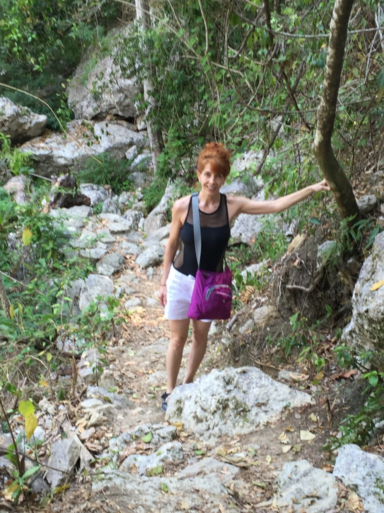 On the trail to Salto de Javira