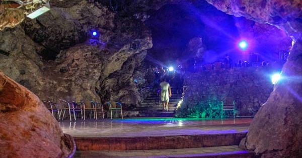 Disco Alaya - a dance club in a cave, Trinidad