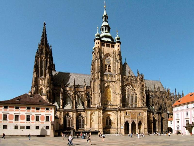 "St. Vitus Cathedral - ""just a church"""